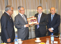 Meeting & Dialogue Session between YB Dato' Sri Mustapa Mohamed Minister of International Trade and Industry (MITI) and Permodalan Nasional Berhad (PNB) Group of Companies