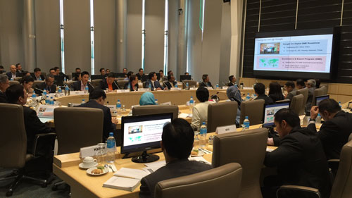 YBM MITI, YB Dato' Sri Mustapa Mohamed chaired a high-level Roundtable Meeting with eCommerce stakeholders on 30 August 2016_2
